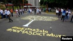 La oposción en Caracas, Venezuela, realizó manifestaciones en contra de elección para Asamblea Constituyente el 30 de julio de 2017.