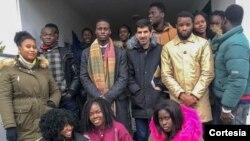 Encontro com estudantes guineenses que residem em Bragança e Macedo, Portugal