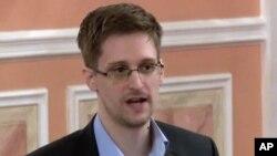 """Edward Snowden, le dénonciateur du vaste système de surveiallance américain ,était le sujet du documentaire """"Citizenfour"""" de Laura Poitras (AP)"""