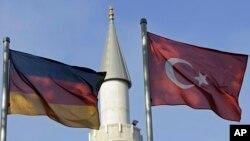 Duisburg kentindeki bir Türk camisi