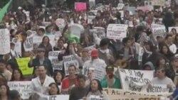 ابراز مخالفت چپگرايان مکزيک با نتيجه انتخابات رياست جمهوری