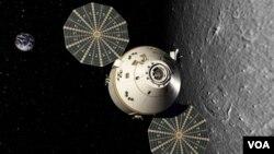 La cápsula Orión reemplazará la flota de transbordadores espaciales ya pasados a retiro.