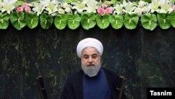 با مراسم سوگند حسن روحانی در مجلس، دوره جدید کار او به حیث رئیس جمهور ایران، آغاز شد