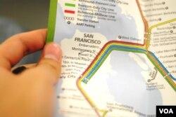 San Francisco public transport map
