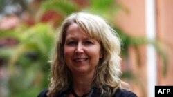 Bà Marie Ottosson nói rằng mọi người ở Việt Nam phải 'chung tay chống tham nhũng'.