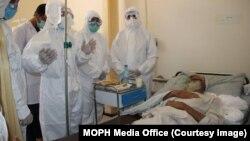 په افغانستان کې د کرونا ویروس د ټولو مثبتو پېښو شمېر ۴۵۲۷۸ ته پورته شو