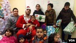 Mahmoud Mahmoud, who organized the festivities, said that seeing the children's faces light up was a tremendous feeling.