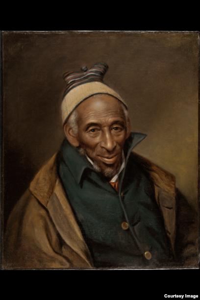 Yarrow Mamout (Muhammad Yaro) mengatur kebebasan untuk dirinya setelah menjadi budak selama 44 tahun. Sebagai entrepreneur dan pemilik rumah, dia terus menjalankan ibadahnya sebagai muslim. (Potret tahun 1819 milik Museum Seni Philadelphia )
