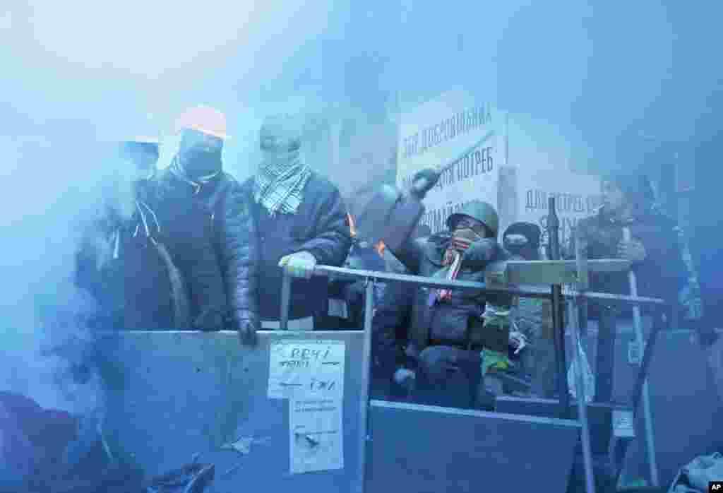 Azadlıq meydanı - Kiyev, 11 dekabr, 2013
