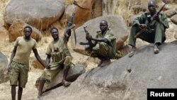 A plane carrying 96 U.N. peacekeepers and a crew of four was shot at while landing at Kadugli airport in Southern Kordofan where the Sudanese Armed Forces and SPLM-North rebels (shown) have clashed.