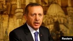 레제프 타이이프 에르도안 터키 총리 (자료사진)