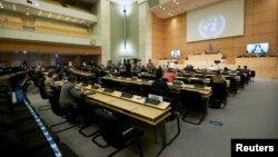 Сессия Совета по правам человека в Европейской штаб-квартире ООН в Женеве