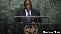 Léon Kakou Adom, Ambassadeur de la Côte d'ivoire auprès de l'Onu.