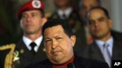 Tổng thống Venezuela Hugo Chavez đang tranh cử nhiệm kỳ tổng thống 6 năm lần thứ tư