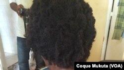 Laurinda Gouveia - militant angolais agressé par la police nationale, à Luanda, dans les manifestations du 23 Novembre 2014. Angola