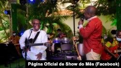 Carlitos Vieira Lopes no Show do Mês