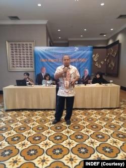 Direktur Eksekutif Institute for Development of Economic and Finance (INDEF) Tauhid Ahmad. (Foto: Indef)