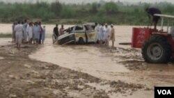 پاکستان کے زیر انتظام کشمیر میں مون سون کی بارشوں سے تباہی