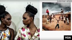 "Images from the new book, ""Everyday Africa""."