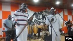 Músicos angolanos