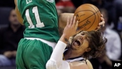Celtics Grizzlies Basketball