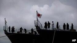 日本海軍。(資料圖片)