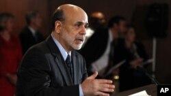 Federal Reserve Chairman Ben Bernanke, June 2011 (file photo).