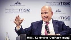 مشیر امریکی قومی سلامتی میک ماسٹر