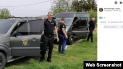 """Facebook objava humanitarne organizacije """"Sveti Georgije"""" Lončari sa fotografijom novog vozila."""