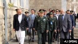 لوی درستیز چین در دیدار با مقامهای امنیتی افغان از کمک ۳۰۰ میلیون یوان بیجینگ به نیروهای افغان خبر داد.