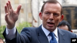 Thủ tướng Úc Tony Abbott