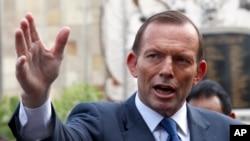 澳大利亚总理阿伯特宣布结束军队在阿富汗的使命