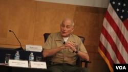 El Jefe del Comando Sur, John Kelly, pide más colaboración al gobierno del presidente Nicolás Maduro para combatir el tráfico de drogas que pasa por Venezuela rumbo a EE.UU.