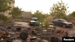 Garin Dikwa da sojojin Chadi suka kwato daga hanun'yan Boko Haram.
