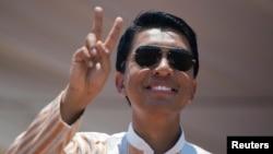 Le candidat à la présidentielle malgache Andry Rajoelina à Antananarivo, le 3 novembre 2018.
