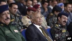 Thủ tướng Yemen Mohammed Basindwa tham dự một lễ kỷ niệm của lực lượng an ninh Yemen (ảnh tư liệu).