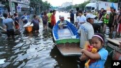 تھائی لینڈ میں سیلاب، ہلاکتوں کی تعداد 506 سے تجاوز کر گئی
