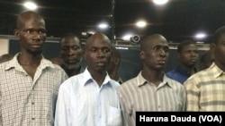 Wasu 'yan Boko Haram dake hannun hukuma