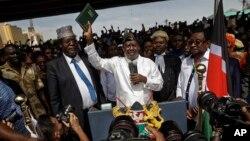 Bikin rantsar da Raila Odinga a matsayin shuaban mutane.