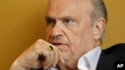 FILE - Former Sen. Fred Thompson, R-Tenn.