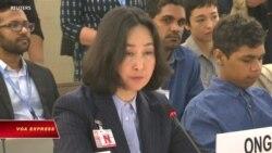 """Liên đoàn Phụ nữ Hong Kong kêu gọi LHQ """"khiển trách"""" người biểu tình"""