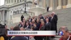美参院民主党集体出动造势