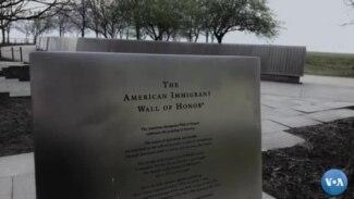 Immigrantlar nomini abadiylashtirgan po'lat sahifalar