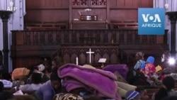 Des demandeurs d'asile évacués trouvent refuge dans une église en Afrique du Sud