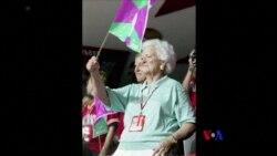 2018-04-16 美國之音視頻新聞: 美國前第一夫人芭芭拉布殊健康欠佳