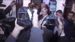 Marine Le Pen Beyrut'ta Türban Takmayı Reddetti