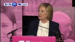 Khoảng cách thu hẹp giữa hai ứng viên Clinton và Sanders (VOA60)
