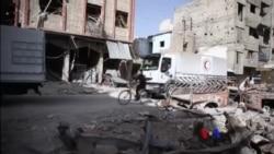 2018-03-06 美國之音視頻新聞:救援車隊因戰事縮短敘東古塔任務