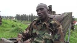 Le général Sultani Makenga, chef militaire du M23, le 3 février 2013 à Rumangabo