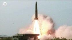 Северная Корея провела запуск двух ракет